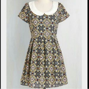 ModCloth Sunny Girl Kaleidoscope Dress